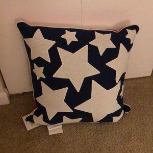 American Flag Outdoor Pillow